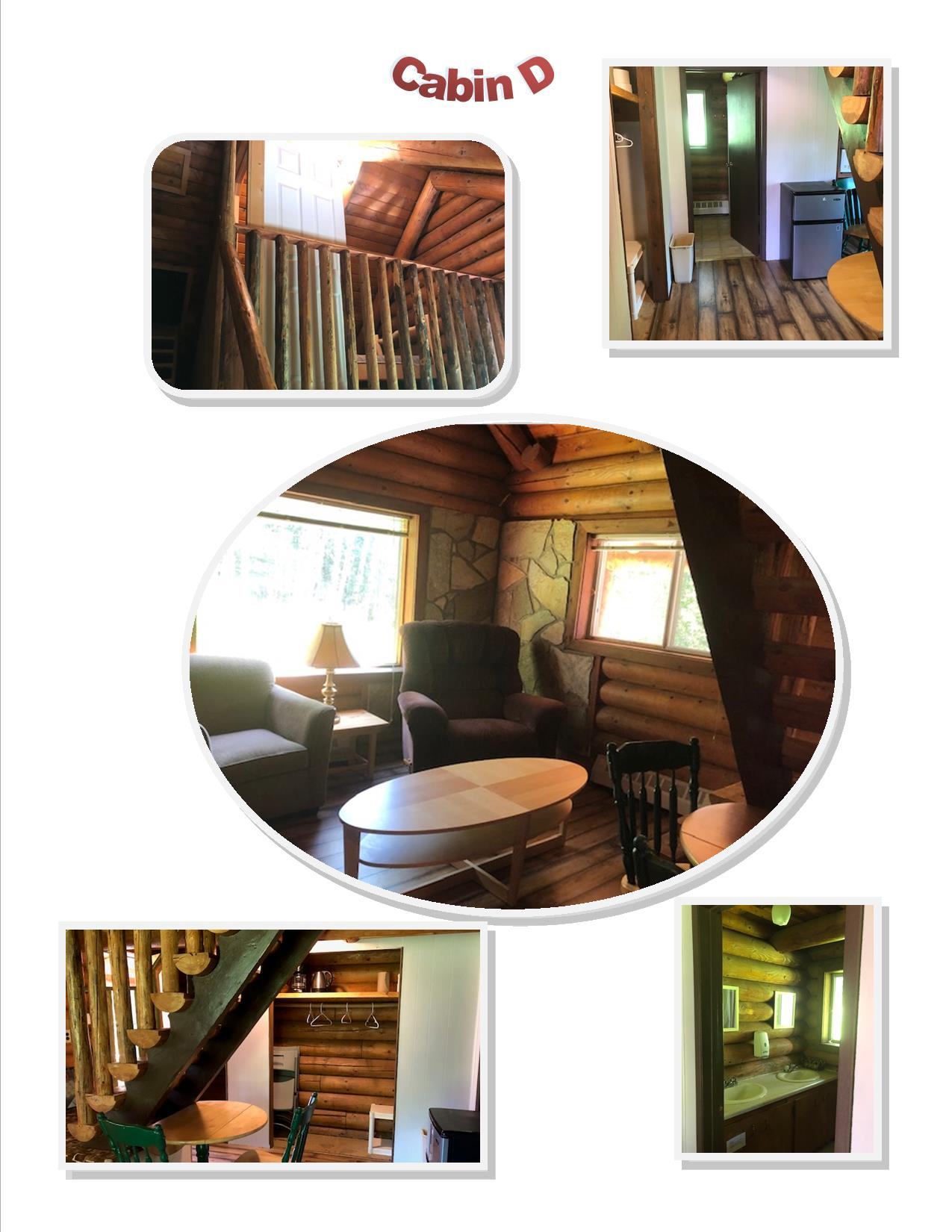 Cabin Rentals Cabin D