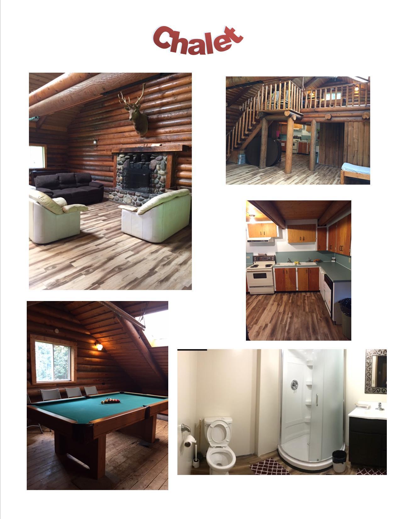 Cabin Rentals Chalet